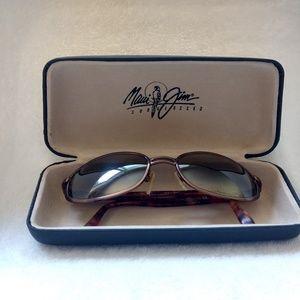 Maui Jim Gulfstream Tortoise Shell Sunglasses